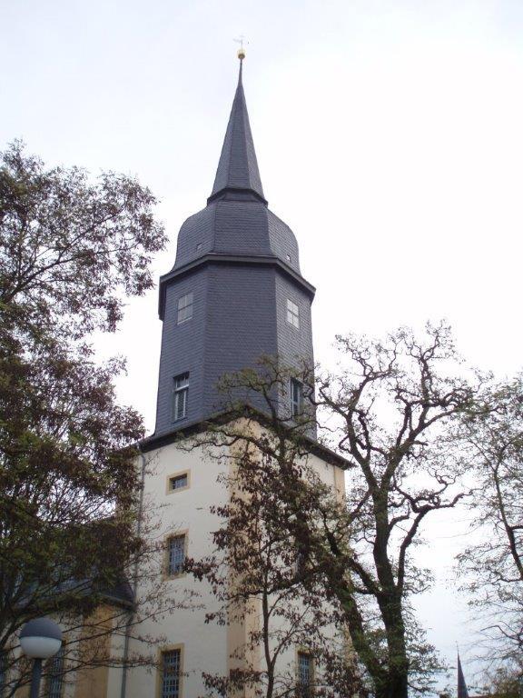 Johanniskirche in Weimar  Schieferdach