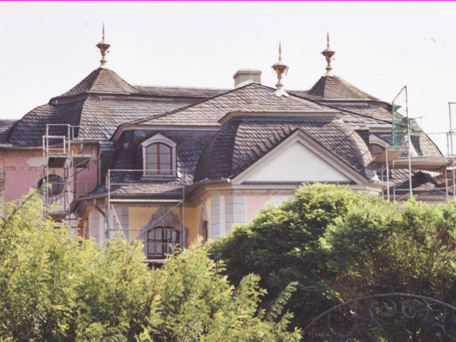 Dornburger Schlösser  Schieferarbeiten und Dachklempnerarbeiten