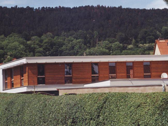 Evangelische Gemeinde Drackendorf  Dacharbeiten und Fassadengestaltung